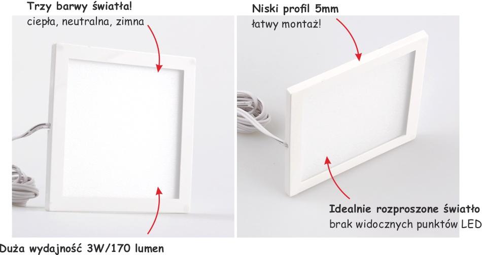 Oprawa LED Foton - podszawkowa oprawa LED