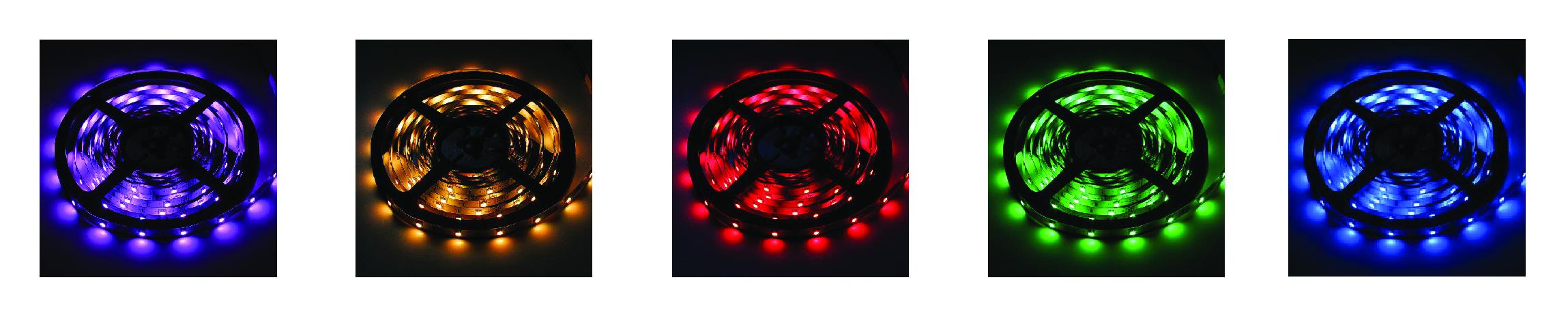 Kolorowe podświetlenie LED