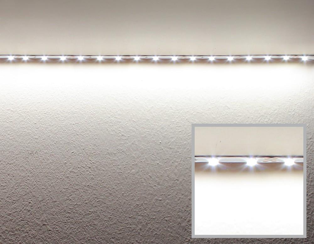 """Negatywny efekt """"koralika świetlnego"""" taśmy LED"""