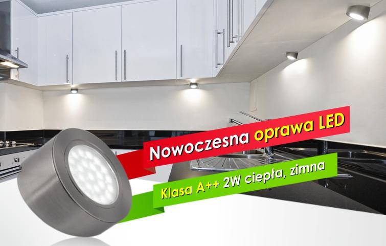 Innowacyjna opraw LED do kuchni - Oval Skos