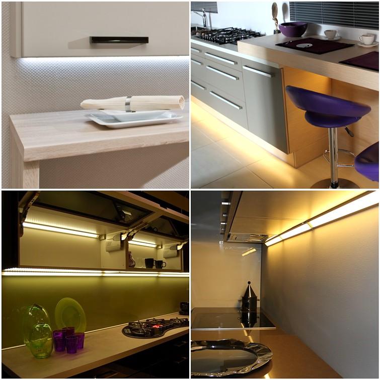 Profile LED oświetlenie kuchenne
