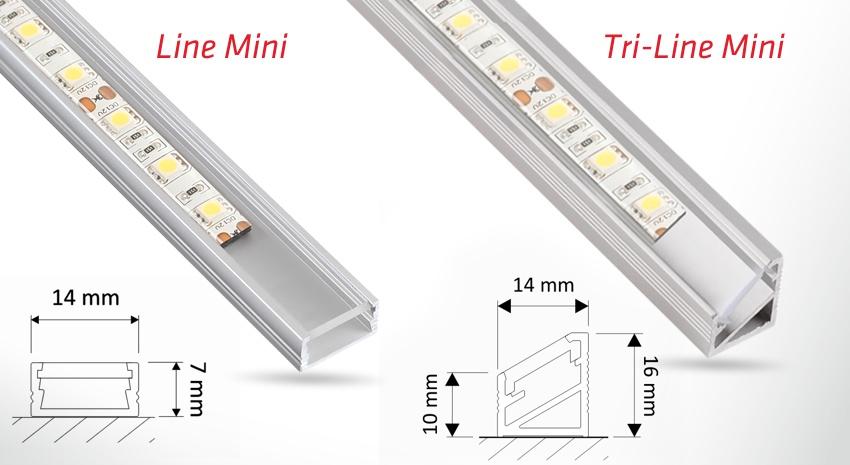Profil Line Mini i Tri-Line Mini