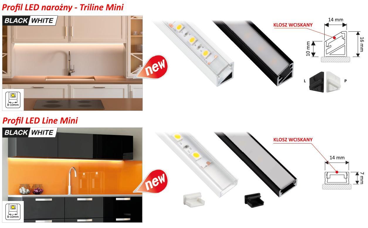Profile LED Triline Mini od Design Light