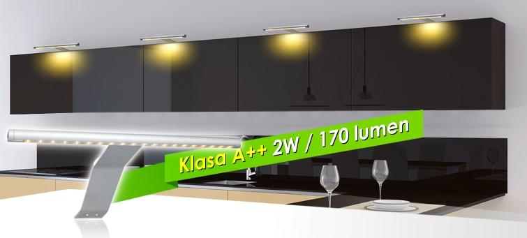 Wysięgnik do szafek CAPRI LED