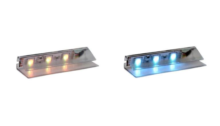 Klipsy LED z PVC
